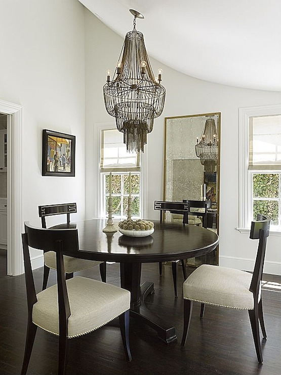 arteriors maxim chandelier contemporary dining room