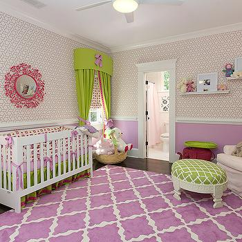 Purple Nursery, Contemporary, nursery, Colordrunk Design