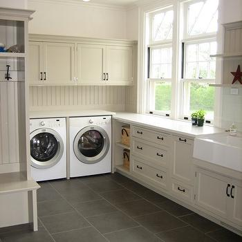 Black Pearl Granite Cottage Laundry Room Sherwin