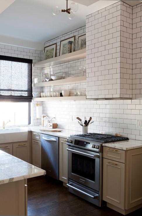 Tiled Kitchen Hood