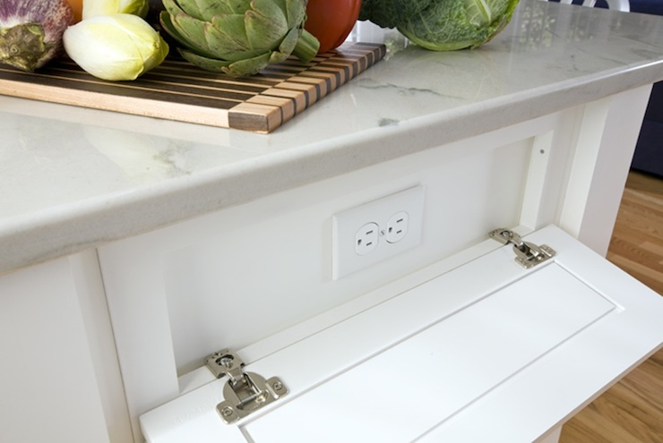Kitchen Island With Electrical Outlets