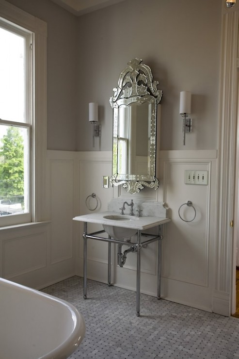 Bathroom Wainscoting French Bathroom Bockman And