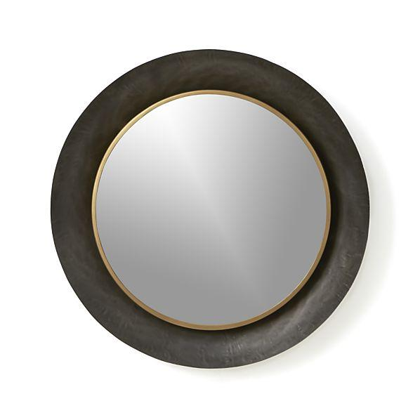 Dish black wall mirror for Black wall mirror