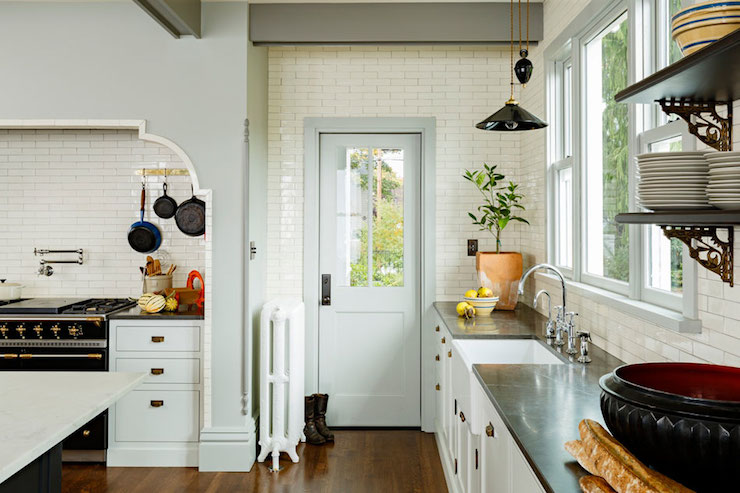 Cooking Alcove Eclectic Kitchen Jessica Helgerson