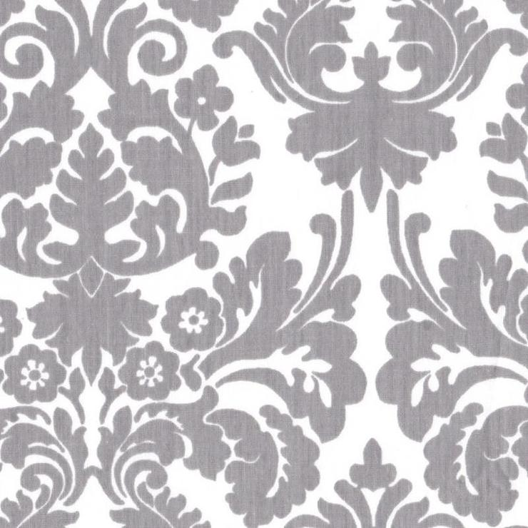 Slate Gray Window Valance