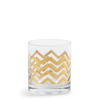 Tabletop Decorations, Golden Chevron DOF Glasses