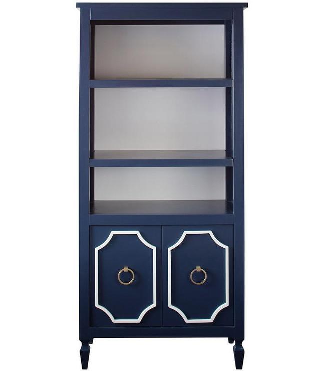 Beverly Navy Bookcase I Annette Tatum Kids