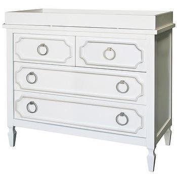 Beverly White Dresser I Annette Tatum Kids