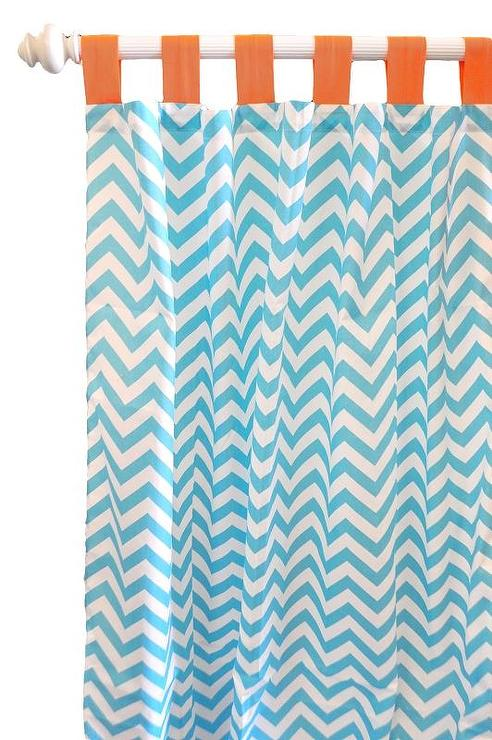 Aqua And Brown Shower Curtain Chocolate and Aqua Curtains