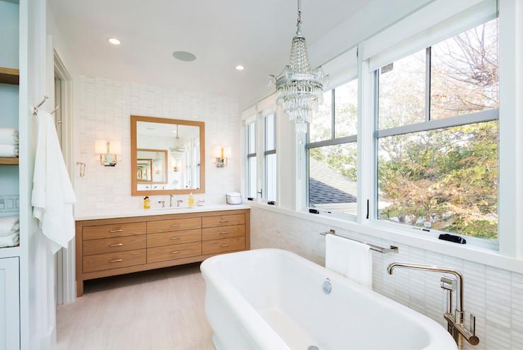 Off Set Tub Filler - Contemporary - bathroom - Von Fitz Design