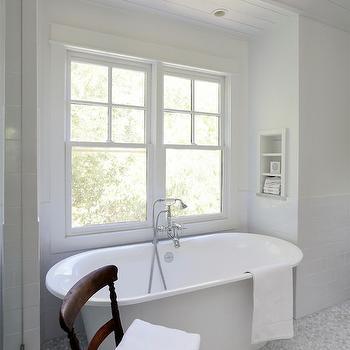 Bathtub Nook Ideas, Traditional, bathroom, Amy Trowman Design