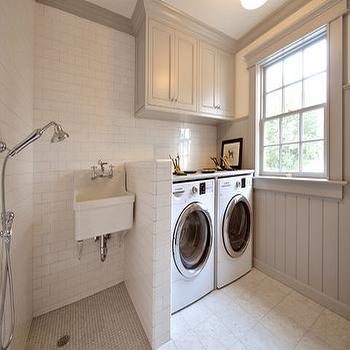 Dog Shower Cottage Laundry Room Bhg