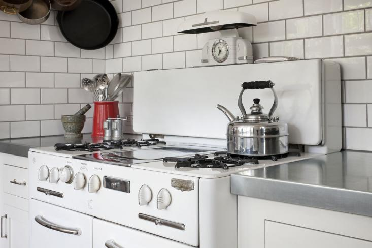 Wedgewood Stove Vintage Kitchen Mark Reilly Architecture
