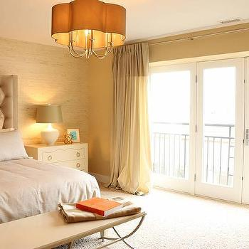 Chandelier Over Bed Contemporary Bedroom Lucy And