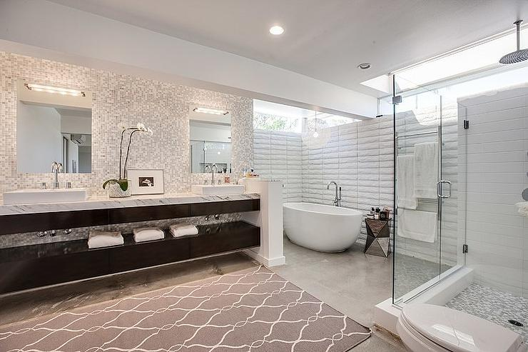 Bathroom Concrete Floors Modern Bathroom Jessica