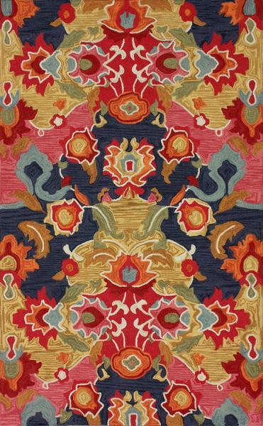 Nina Collection Multicolor Area Rug