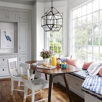 Bay Window Banquette, Contemporary, kitchen, HGTV