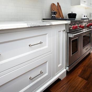 Mini Subway Tiles, Transitional, kitchen, The Design Company