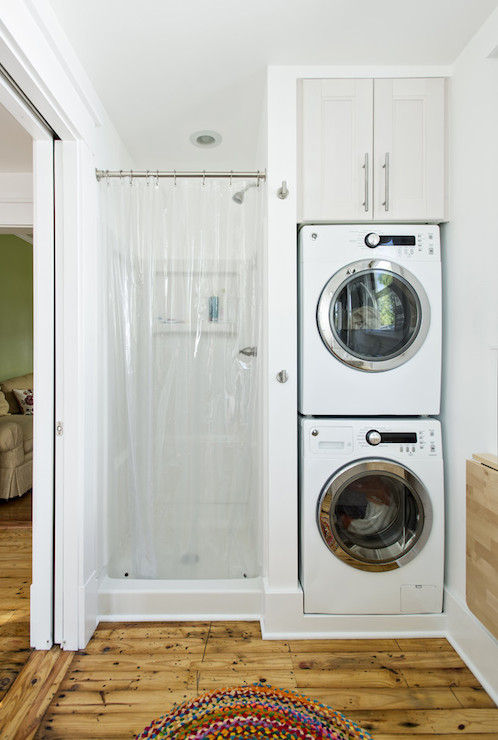 Stacked washer and dryer design ideas - Washer dryers for small spaces ideas ...