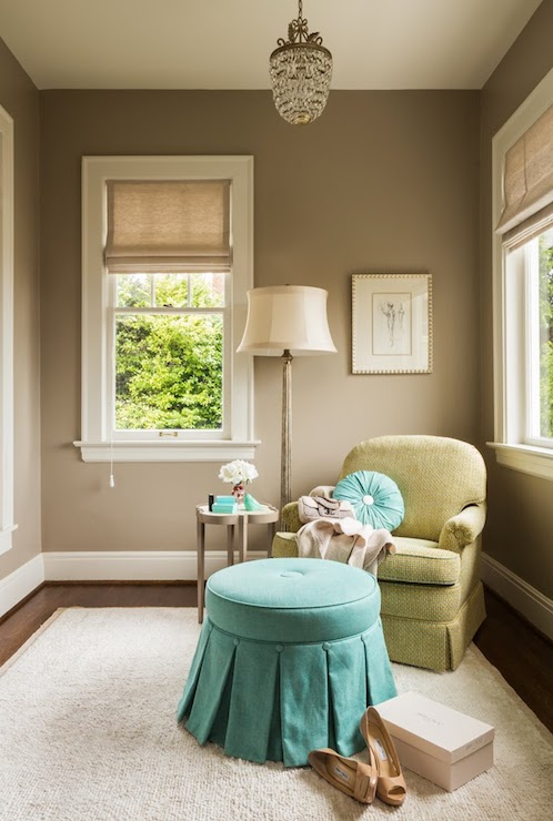 Light taupe paint colors transitional bedroom ralph lauren hopsack nifelle design - Wall taupe ...