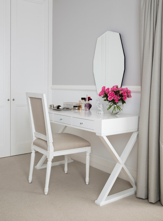 Vanity Table Transitional Bedroom Ici Dulux Milton