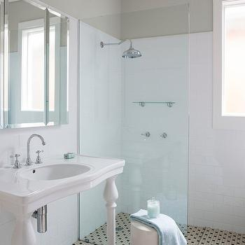 Open Shower, Transitional, bathroom, ICI Dulux Winnow, Horton and Company