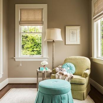Light Taupe Paint Colors, Transitional, bedroom, Ralph Lauren Hopsack, Nifelle Design