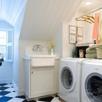 Attic Laundry Rooms Design Ideas