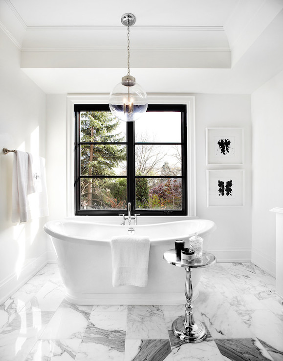 White and gray bathroom contemporary bathroom the for Bathroom decor regina