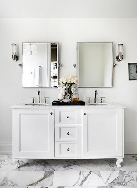 Bathroom Vanity Feet double bathroom vanity on feet design ideas