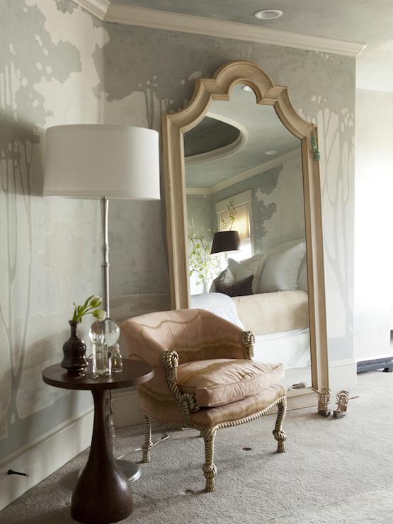 Chinoiserie Wallpaper - Asian - bedroom - Alice Lane Home