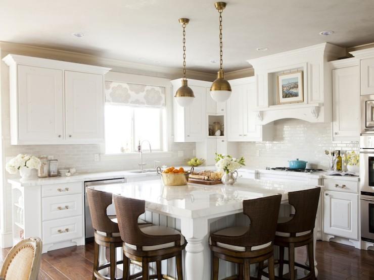 white and brown kitchen transitional kitchen alice lane