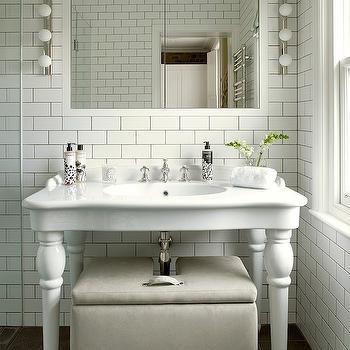 Merveilleux Transitional   Bathroom