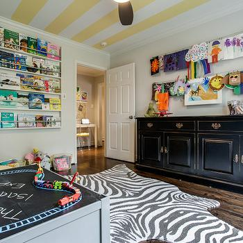 Kids Playroom, Contemporary, girl's room, Benjamin Moore Classic Gray, Maddie G Designs
