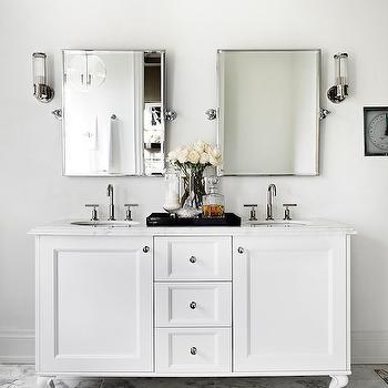 Small Double Vanity, Contemporary, bathroom, The Design Company