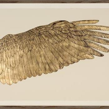 Wings of Love, Goldleaf right, Natural Curiosities
