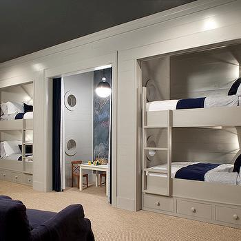 Bunk Beds Cottage Boy Room Toulmin Homes