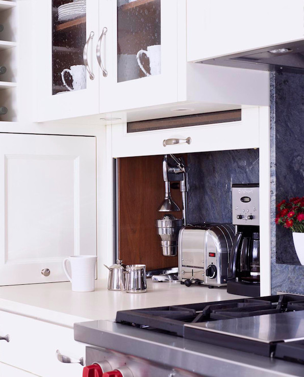 Appliance Cabinets Kitchens: Hidden Kitchen Appliances