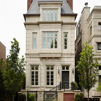 Mansard Roof, French, home exterior, Burns and Beyerl Architects
