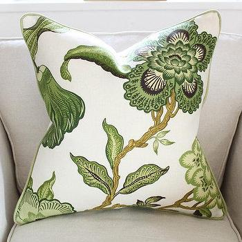 Schumacher Hot House Flowers Pillow Cover in by PinkandPiper I Etsy