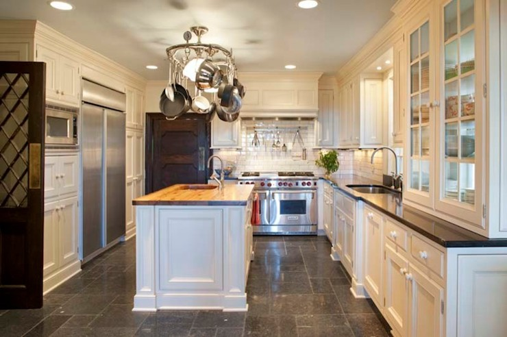 Island Pot Rack Traditional kitchen Keystone Kitchen and Bath – Keystone Kitchen and Bath
