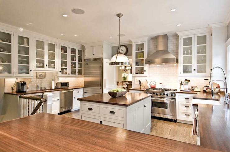 Gourmet Kitchen Transitional Kitchen William A