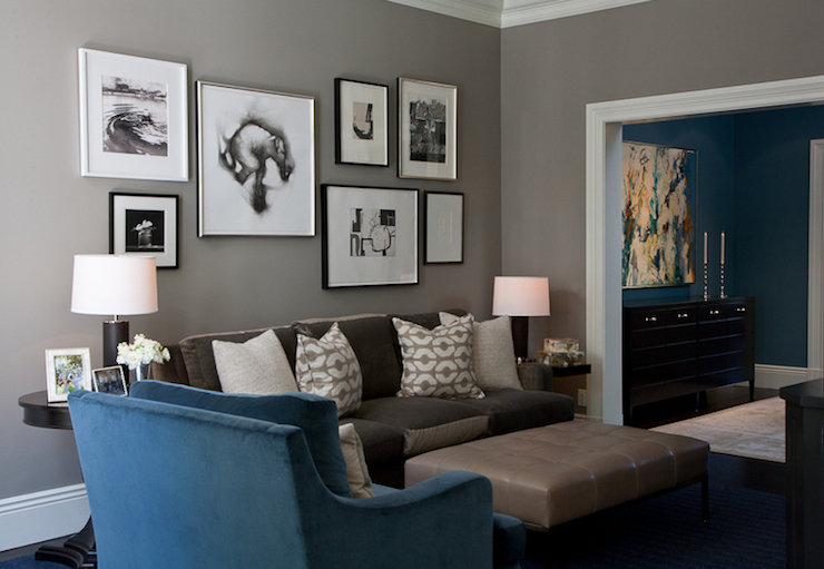 Dark Taupe Wall Color Design Ideas