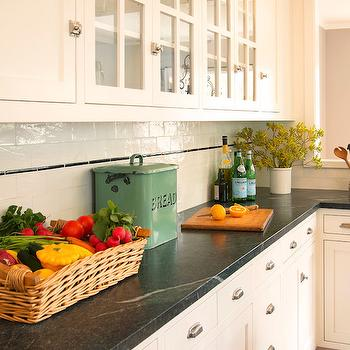 Soapstone Countertops, Transitional, kitchen, Benjamin Moore Simply White, Beth Dana Design