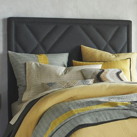 Bedroom Design Bed Against Window
