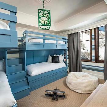Bunk Bed Steps, Contemporary, boy's room, Adam Hunter Inc
