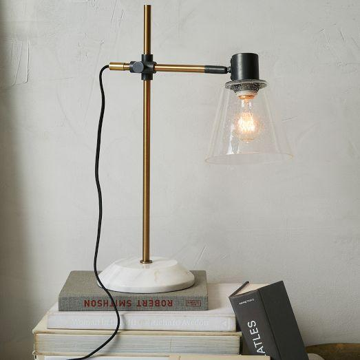Factory Brass Task Lamp