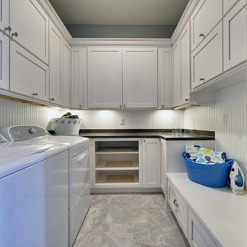 Cork Countertops Cottage Laundry Room Dillon Kyle