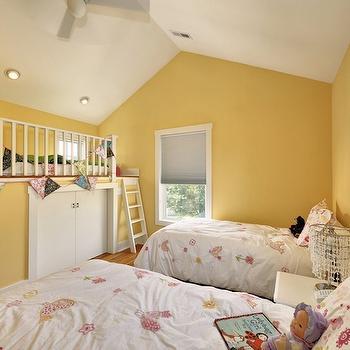 Loft Playroom, Traditional, girl's room, Echelon Custom Homes