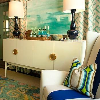 Art Deco Cabinet, Contemporary, living room, L Moore Design